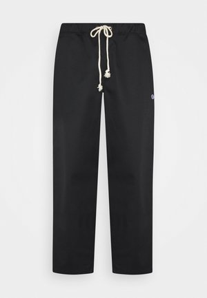 STRAIGHT HEM PANTS - Pantalon classique - black