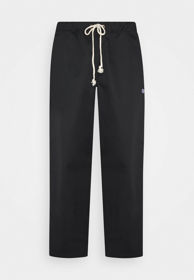 Champion Reverse Weave - STRAIGHT HEM PANTS - Trousers - black