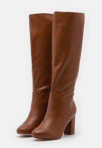 RAID - DILENI - High heeled boots - tan - 2