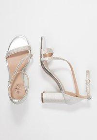 Call it Spring - AZARIA - Sandaler med høye hæler - silver - 3