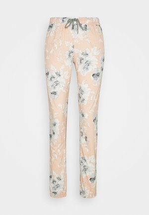 Pyjama bottoms - rosa/grau