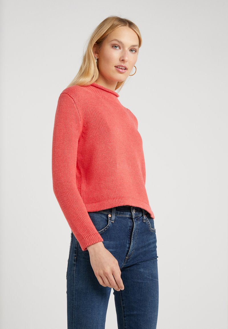 J.CREW - Jumper - heather pomegrante