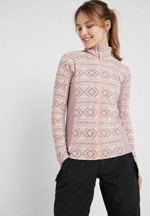 FLETTE  - Fleece jacket - petal
