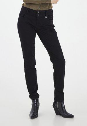 PZSUZY  - Jeans Skinny Fit - black denim