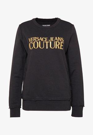 LADY LIGHT - Sweatshirt - black/gold