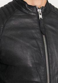 Schott - LCJULES - Leather jacket - black - 5