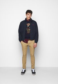 Polo Ralph Lauren - BLEND - Strickpullover - dark blue/multicolor - 1