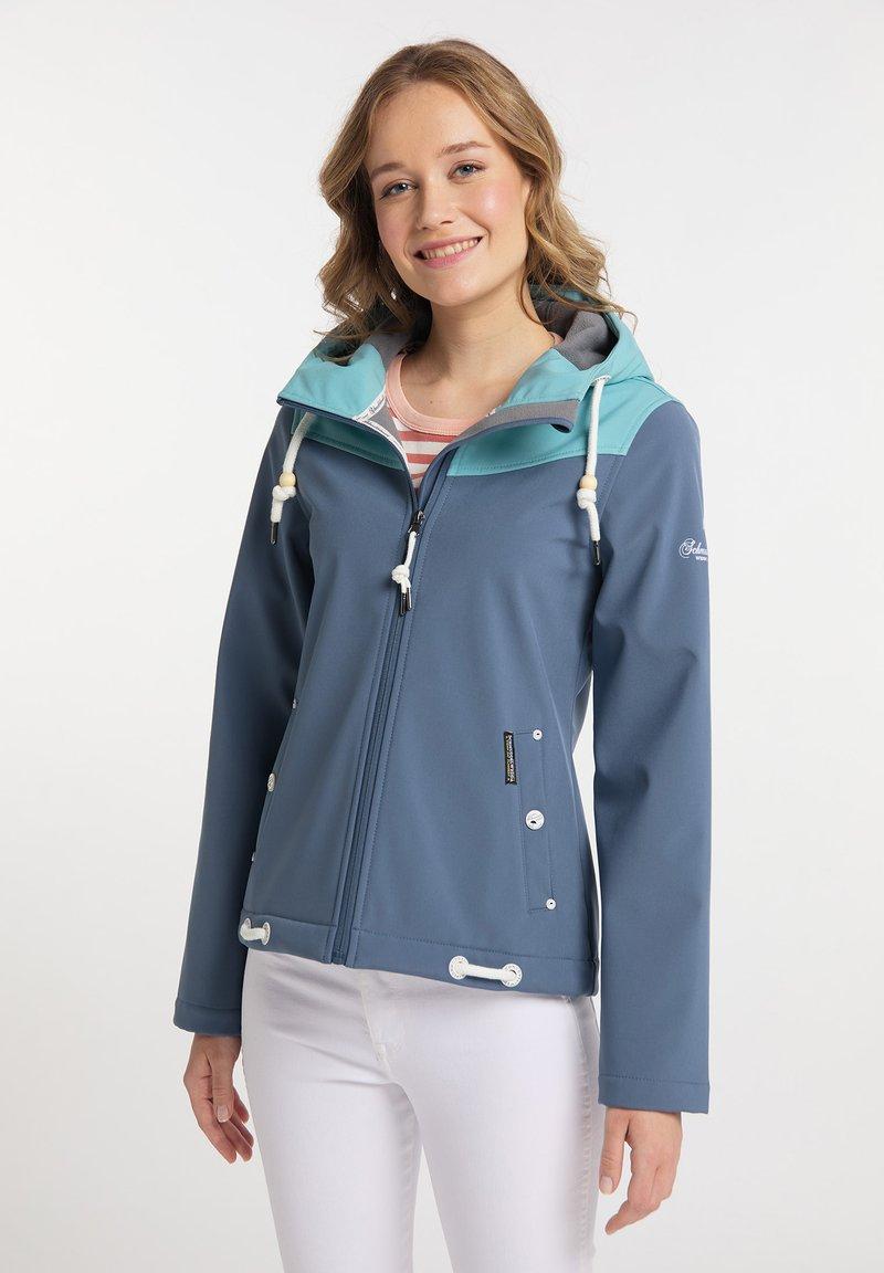 Schmuddelwedda - Soft shell jacket - graublau