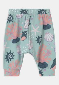 Walkiddy - BAGGY SHELLS PEARLS UNISEX - Trousers - blue - 1