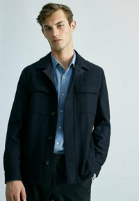 Massimo Dutti - MIT TASCHEN - Summer jacket - dark blue - 2