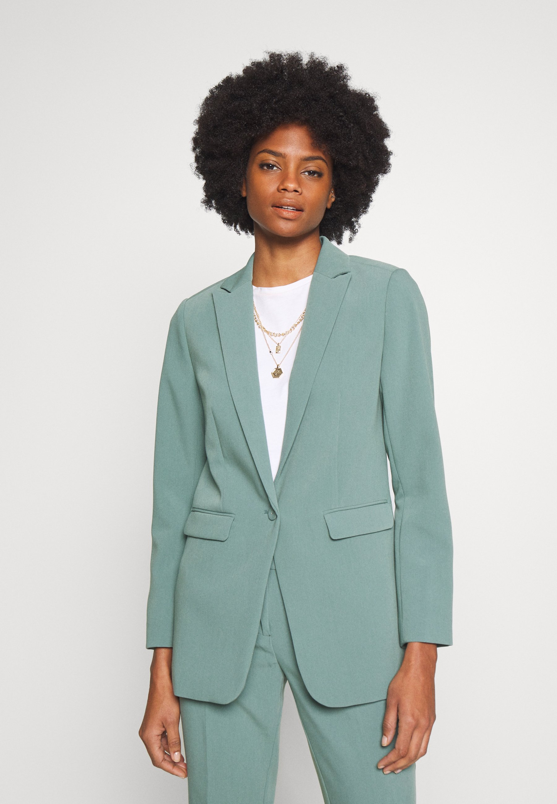 Aaiko SAMILLA  - Blazer - steel green - Vestes Femme LJ3WT