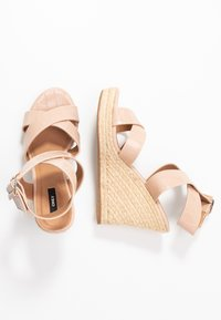 ONLY SHOES - ONLAMELIA WRAP  - High heeled sandals - nude - 3