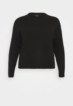VMPLAZA BOXY BLOUSE - Jumper - black