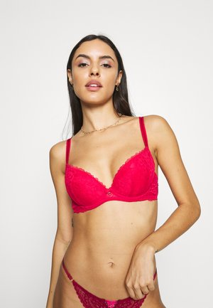 SEXY PLUNGE  - Sujetador con aros - red