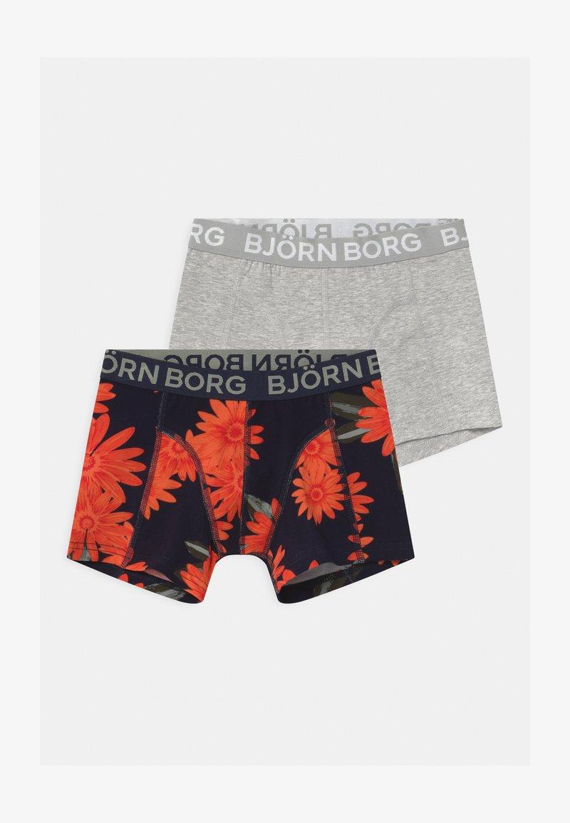 Björn Borg - OVERIZIED FLOWER SAMMY 2 PACK - Pants - night sky