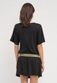 Envie de Fraise - DANNYOR - Sukienka z dżerseju - black - 2