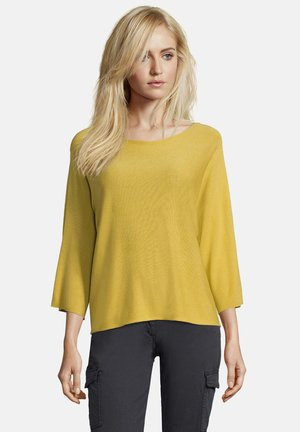 Pullover - yellow