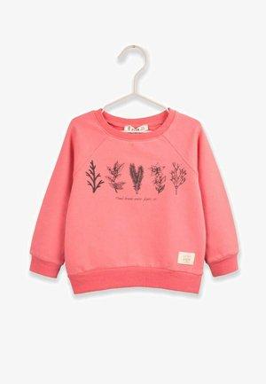 Sweatshirt - light pink color