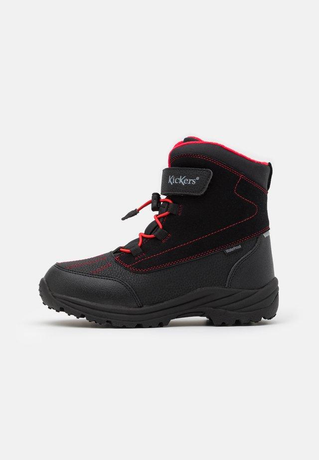 JUMP WPF - Śniegowce - noir/rouge