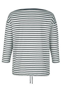 Alba Moda - Long sleeved top - marineblau weiß - 5