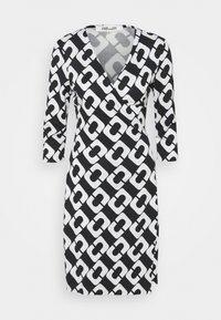 Diane von Furstenberg - NEW JULIAN TWO - Jersey dress - black/white - 6