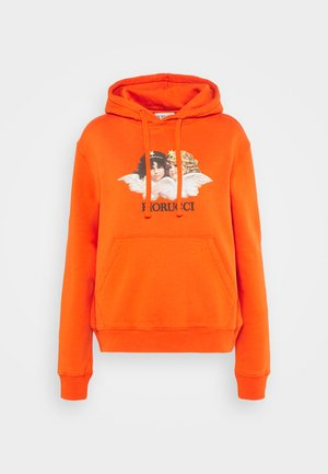 VINTAGE ANGELS HOODIE  - Sweatshirt - orange