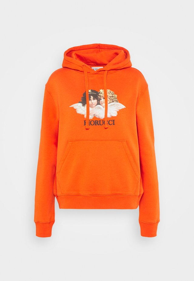 VINTAGE ANGELS HOODIE  - Bluza - orange