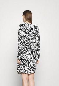 Bruuns Bazaar - BELL BINA DRESS - Day dress - black/white - 2