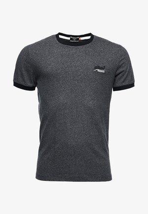 ORANGE LABEL - Basic T-shirt - tar black grit