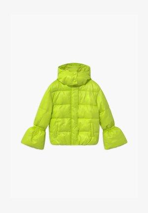 PIUMINO LOGO - Zimní bunda - verde acido chiaro