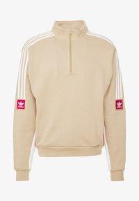 adidas Originals - MODULAR - Sweatshirt - hemp/white/power red - 4