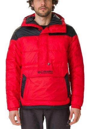 LODGE PULLOVER JACKET - Veste d'hiver - mountain red, black