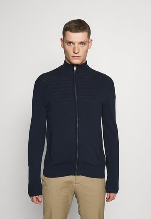 MOCK NECK - Sweter - navy
