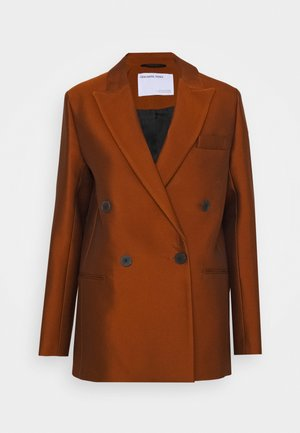 HAILEY - Short coat - mahogany