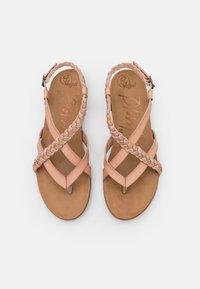 Blowfish Malibu - T-bar sandals - blush/multicolor - 5