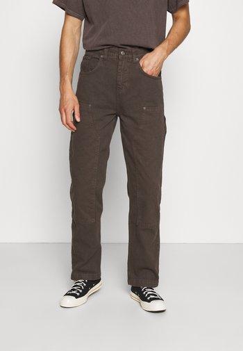CARPENTER - Cargo trousers - brown