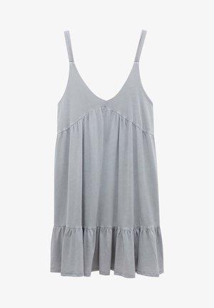 Sukienka letnia - mottled grey
