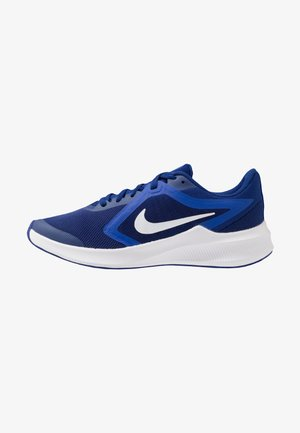 DOWNSHIFTER 10 - Laufschuh Neutral - deep royal blue/white/hyper blue