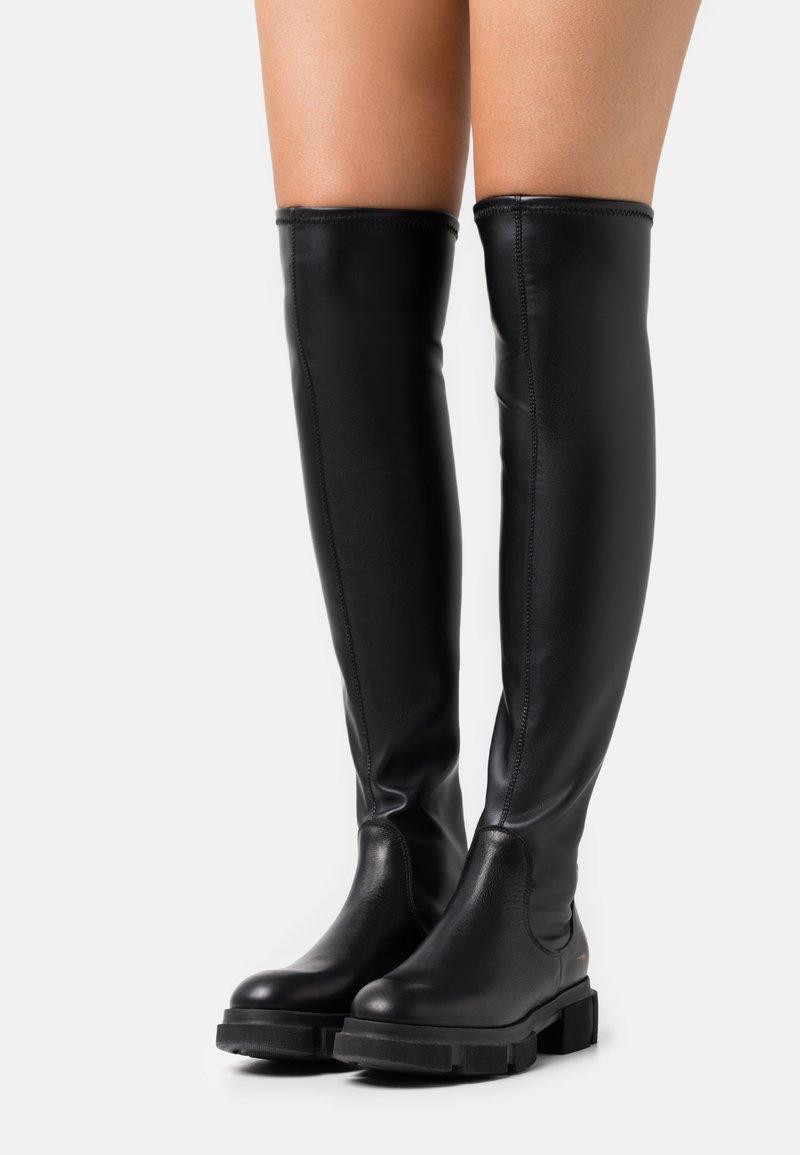 Copenhagen - CPH544  - Platform boots - black