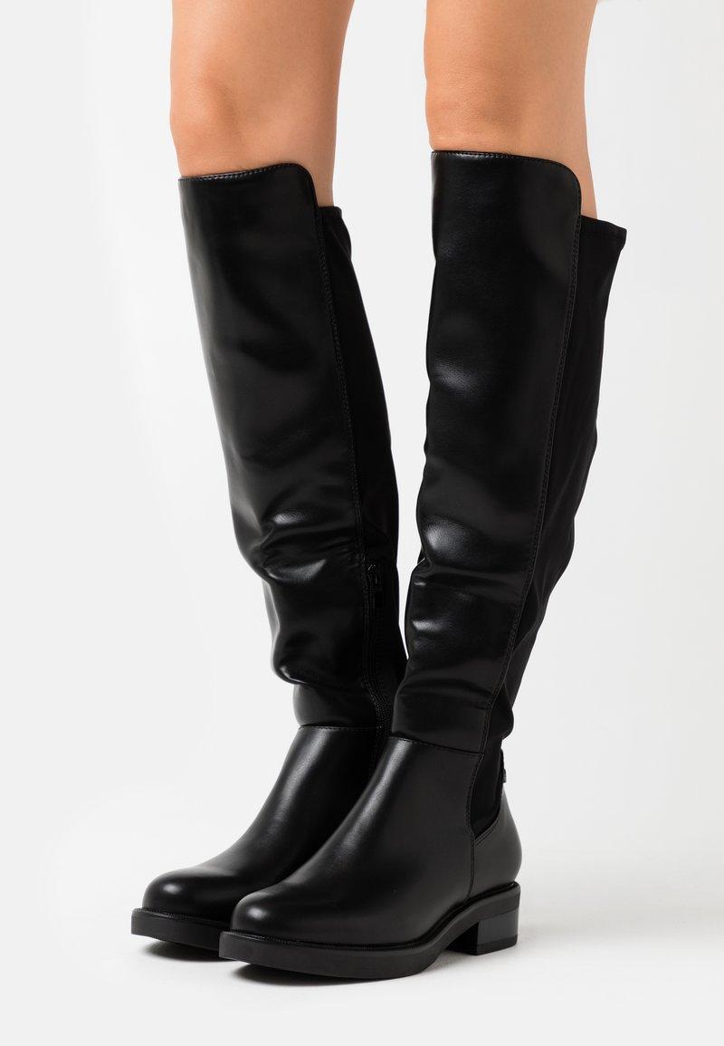 H.I.S - Høye støvler - black