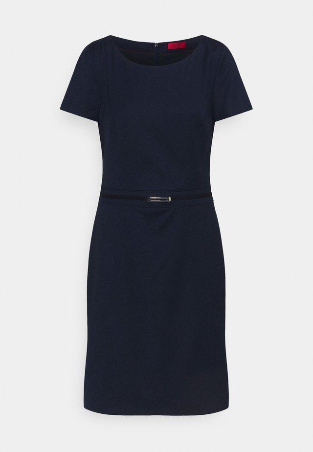 KADASI - Shift dress - open blue