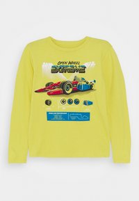 GAP - BOY GRAPHICS - Long sleeved top - bright citron - 0