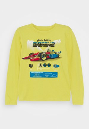 BOY GRAPHICS - Long sleeved top - bright citron
