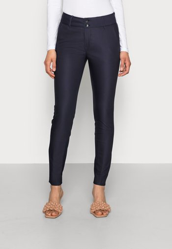BLAKE NIGHT PANT SUSTAINABLE - Trousers - navy