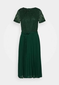 Dorothy Perkins - ALICE PLEAT MIDI - Cocktail dress / Party dress - green - 5