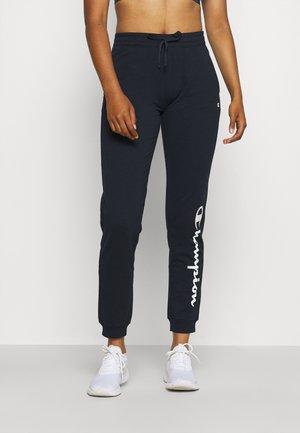 CUFF PANTS - Teplákové kalhoty - dark blue