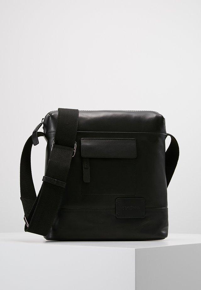 CONNOR SHOULDERBAG - Across body bag - black