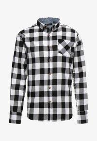 Košile - white black