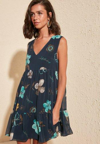 LACIVERT - Day dress - navy blue