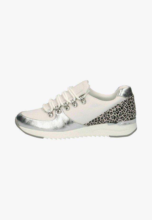 Sneakers laag - white leo grey